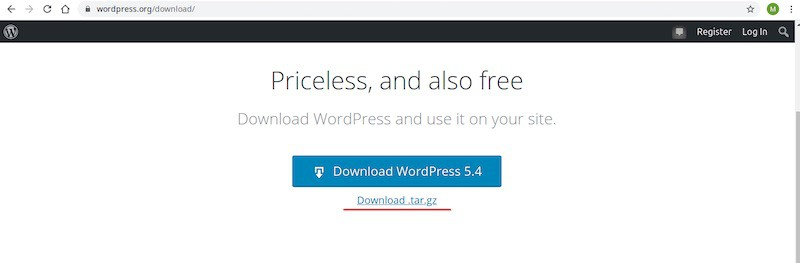 How to install and configure WordPress on a Linux server